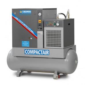 Creemers schroefcompressor RCA op ketel met koeldroger