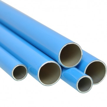 AirNet aluminiumbuis blauw 5,7 mtr