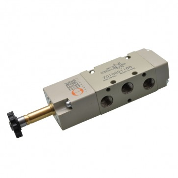 Metal Work elektrisch bediend 5/2 ventiel SOV serie 70 monostabiel