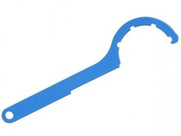 Sicomat blauwe haaksleutel R235