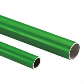 AirNet aluminiumbuis groen 5,7 mtr