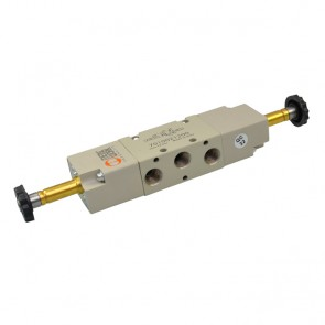 Metal Work elektrisch bediend 5/2 ventiel SOV serie 70 bistabiel