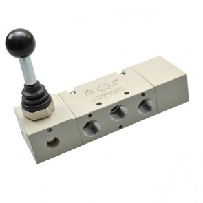 Metal Work handbediend 5/3 ventiel MAV serie 70