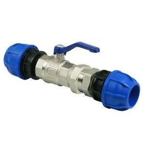 Sicomat 3-delige kogelkraan koppeling R225