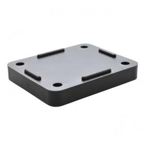 Sicomat compact muurplaat afstandhouder 9 mm
